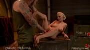 Bootlicking Blonde Babe