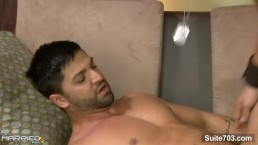 Shameless married guy Dominic Pacifico gives blowjob and gets fucked