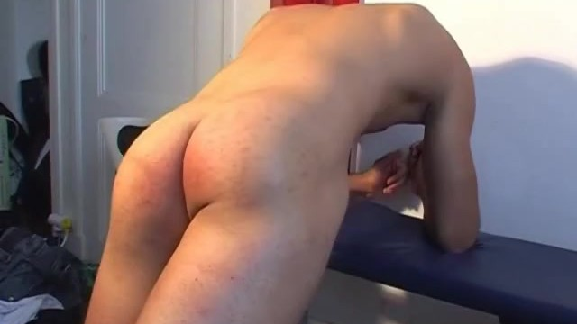 Testing his big cock: Marco serviced by us in spite of him ! - 15