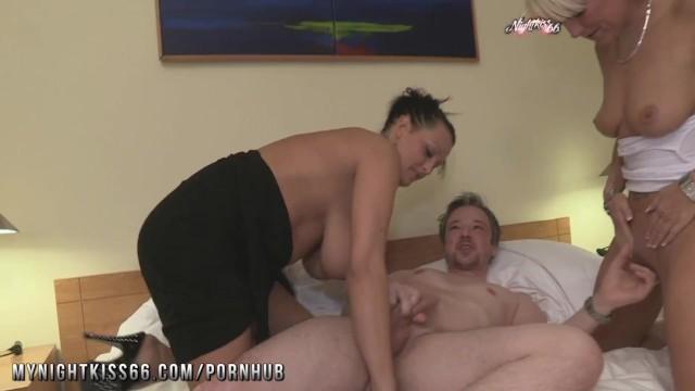 Geman milf Nightkiss66 - german milf threesome with a couple