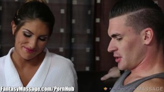 Preview 2 of FantasyMassage August Ames Erotic Masseuse