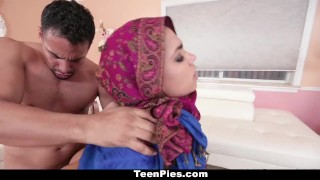 TeenPies - Muslim Girl Praises Ah-Laong Dick  middle eastern cum in pussy big tits boobs teen creampie internal amateur cumshot teenpies busty teamskeet hardcore brunette muslim ada