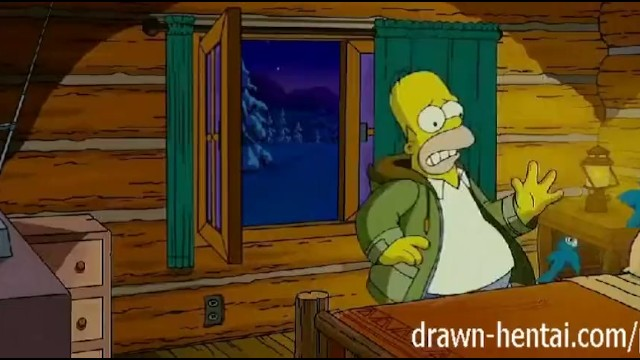 Anime lisa simpson nude Simpsons hentai - cabin of love