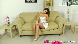 Silk adele taylor only pantyhose heels