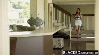 BLACKED Big Natural Tits Australian Babe Angela White Fucks BBC Transexual hot