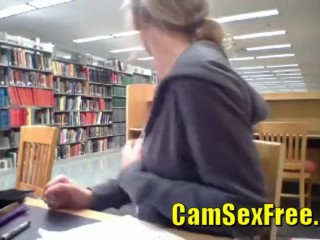 Kendra Sunderland Library Video full uncensored