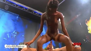 Pounded babe zara gorgeous gets ebony cumshots cum