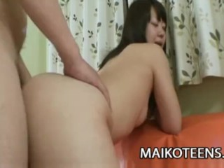 Waka Moritani - Charming JAV Teen Filled With Sperm