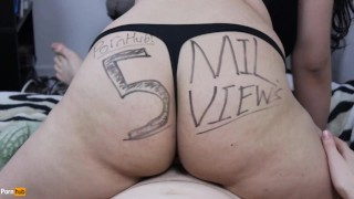 Teen Daisy Dabs loves the cock, Thank you for the 5 Million Views!! Pussy masturbating