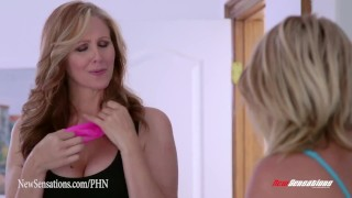 New Sensations - A Mother & Daughter Thing Dakotah Skye and Julia Ann