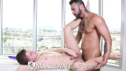 HD ManRoyale - Twink get fucked by sexy tattooed guy