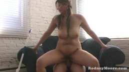 Kya Dakota Big Tits Maid Fucked