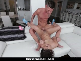 ExxxtraSmall - Tight And Tiny Latina Loves Big Cock!