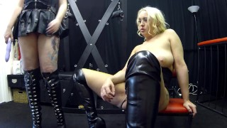 Latex light strap blues with in dungeon sookie on fucked get bdsm pvc on