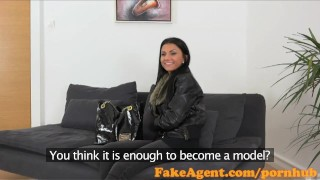 Fakeagent office babe takes sexy old time in creampie first year natural of