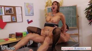 Fuck stockinged student holiday young her teacher tara stockings fuck