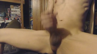 Twice and it jerking cumming off masturbate