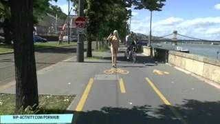 In blonde public nude karol sweet teen small skinny