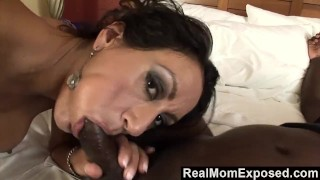 Busty milf a relax to creampie needs cock blowjob
