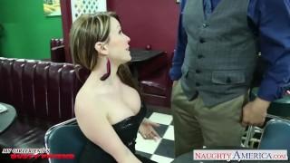 Courtney gives cummz titjob girlfriend busty naughty boobs