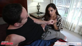 Mom a le chesty francesca large dick fucking brunette blowjob