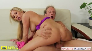 Busty riding cock reign athlete tasha big naughty