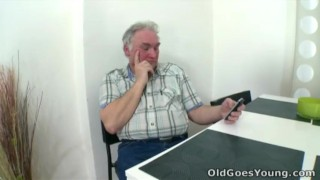Old Goes Young - What starts as an innocent visit soon turns out to be porno