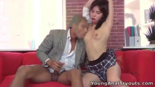 Young Anal Tryouts Young anal tryouts is all about getting anal virgins