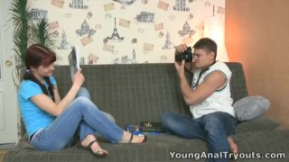 Young anal sex tryouts anal learning is stefany fuck teen