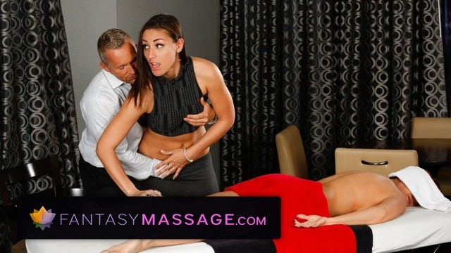 Lump in mans breast - Husband cheats with masseuse with wife in room