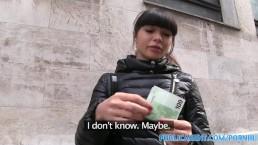 PublicAgent hot Asian babe fucks stranger for money
