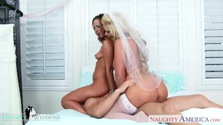 And sexy jada phoenix marie share wedding at cock stevens babes blonde marie