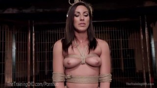 Take rilynn learns pain how rae to clothespin bondage