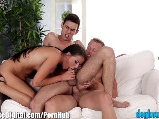 DogHouse Bicurious Anal 3Some