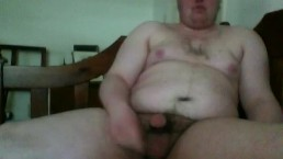 me jerking my dick off to some webcam model