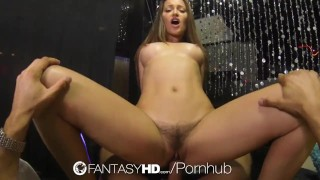 HD FantasyHD - Hot babe Dani Daniels fucks guy at strip club Shool onl