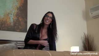 Dava footage the scenes behind foxx hot davafucks glasses