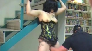 Store at adult bondage an extreme fisted amateur in couple natural