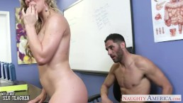 Busty sex teacher Veronica Avluv fucking