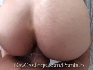 HD GayCastings - Hot straight guy with huge dick auditions for gay porn