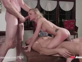New Sensations – Tiny Teen Dakota Skye Fucked Raw From Both Ends