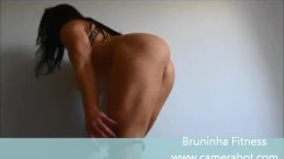 Getting naked! - Micro shorts, taking off panties - Striptease