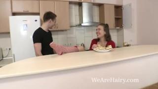 Agneta enjoys a hard fucking from her man Cum load
