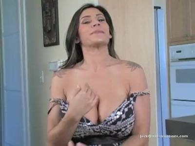 Raylene - Fucking Raylene's Huge Tits with My Tiny Cock