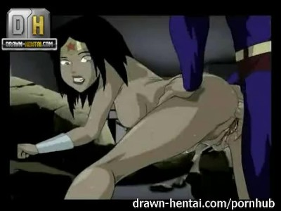 Wonderwoman tegneserie porno
