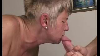 Busty Grandma Caught Her Stepson Masturbating Over Porn Jamacian ass