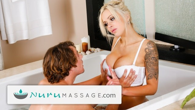 Pornstar jersey vixen Nurumassage son fully serviced by step-mom full scene