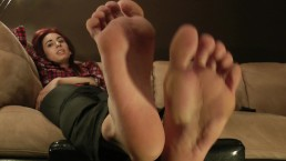 Fiona's Feet in Your Face - www.c4s.com/8983/13317848