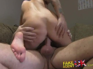 Hot Amature Porn Stars - FakeAgentUK Hot amateur tattooed babe wants to be a porn star