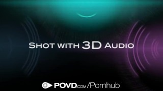 HD POVD - Chloe Amour plays with dildo before being fucked